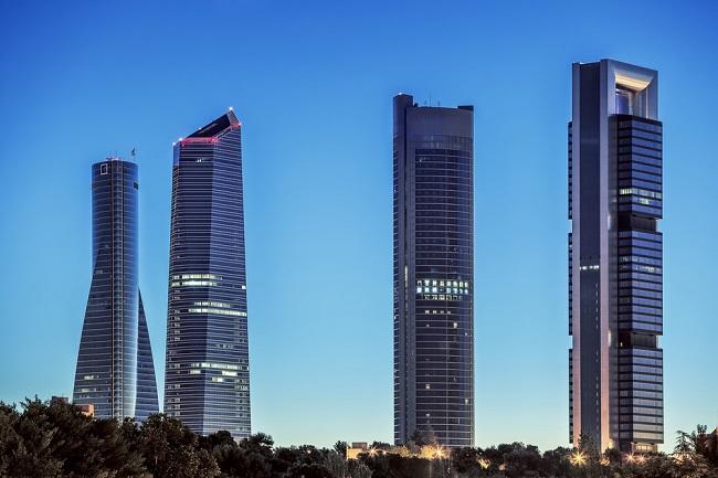 rascacielos de madrid