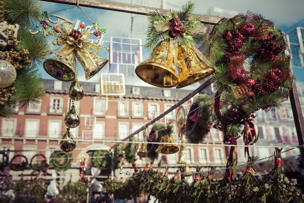 mercados de navidad en madrid