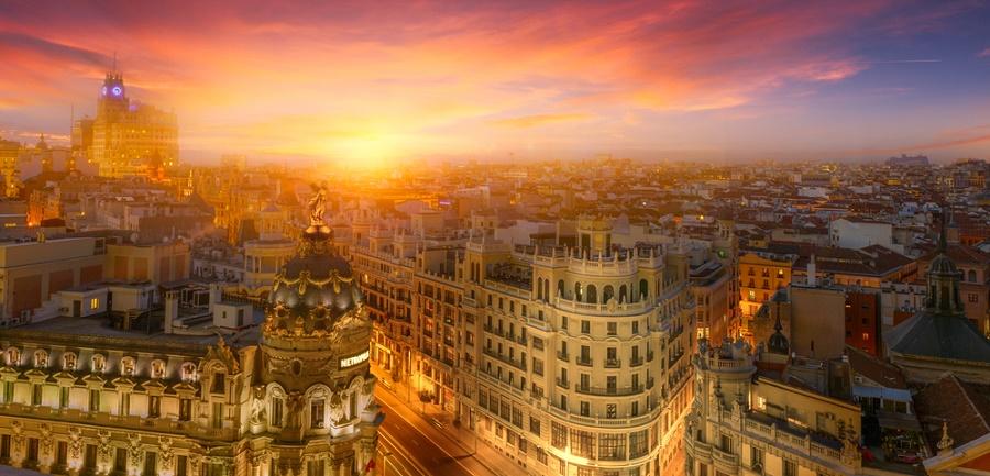 solsticio de invierno en madrid
