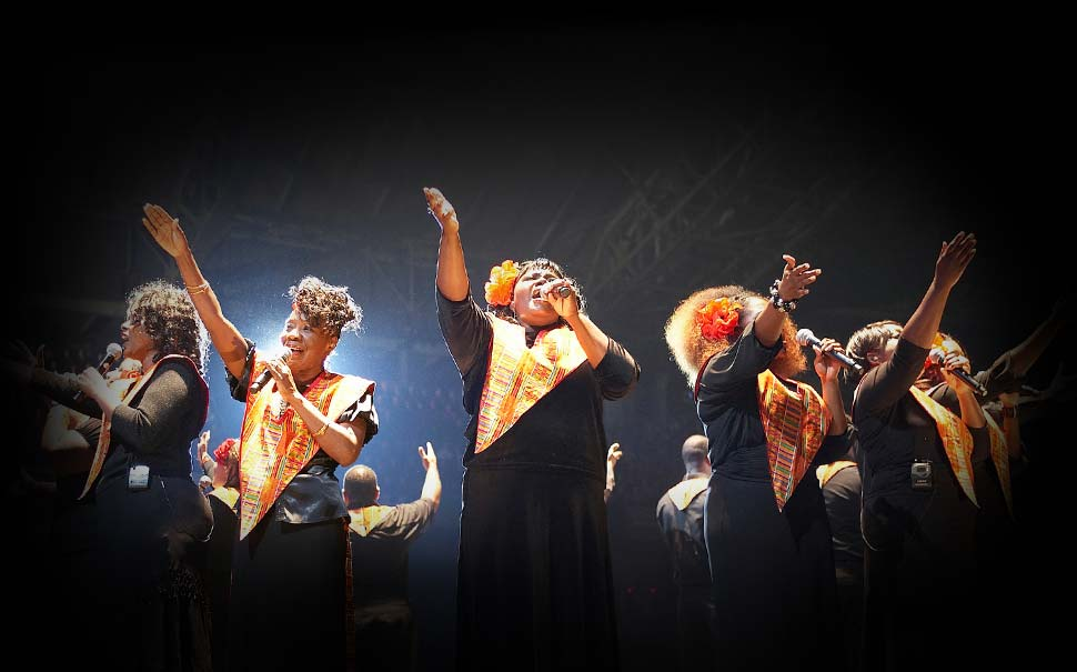 harlem gospel choir en Madrid