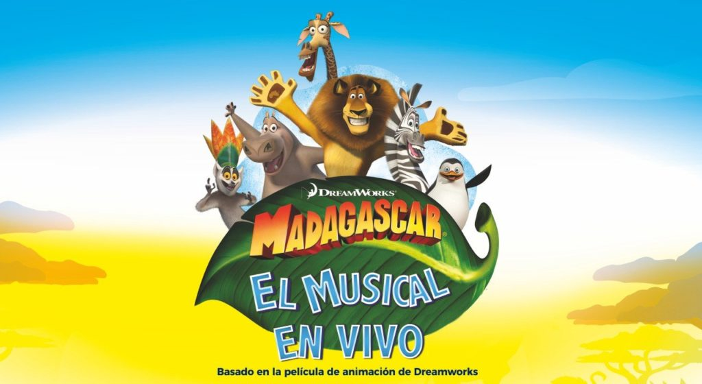madagascar musical madrid